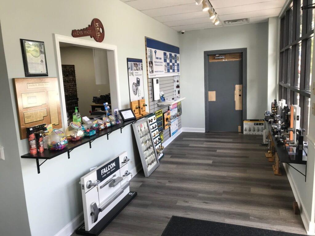 Down's new location interior